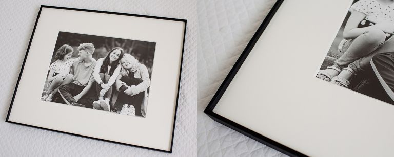 photographer Duffield Derbyshire: Framed black and white photograph by Jennifer Clare